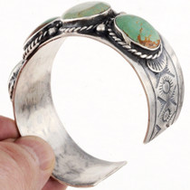 Turquoise Silver Cuff Bracelet 24828
