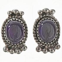 Amethyst Sterling Earrings 28865