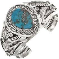 Genuine Bisbee Turquoise Cuff Bracelet 28931