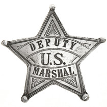 Deputy US Marshal Silver Star Badge 29005