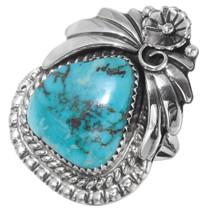 Ladies Blue Diamond Turquoise Navajo Ring 29839