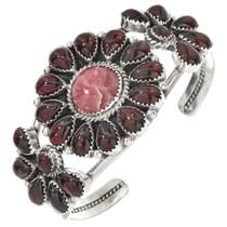 Garnet Rhodochrosite Navajo Ladies Bracelet 29812