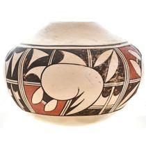 Vintage Hopi Polychrome Pottery 20th Century by Pauline Setalla