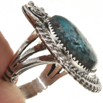 OOAK Turquoise Ladies Navajo Ring 28942
