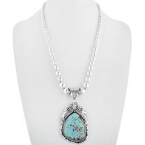 Turquoise Silver Southwest Pendant 29849