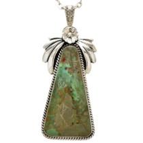Navajo Turquoise Pendant  29881