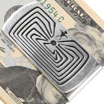 Navajo Handmade Silver Money Clip 29889