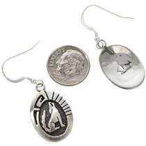 Navajo Howling Wolf Earrings 29937