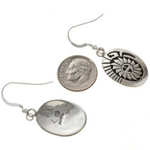 Navajo Sterling Earrings 29938