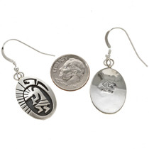 Navajo Sterling Earrings 29940