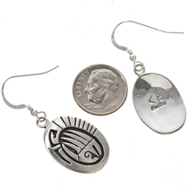 Native American Silver Earrings 29942