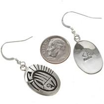 Native American Silver Earrings 29942