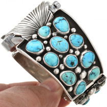 Old Pawn Turquoise Watch 29952