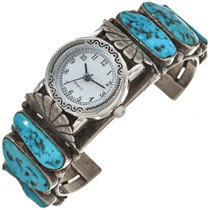 Sleeping Beauty Turquoise Watch Cuff 29954
