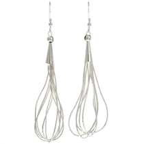 Liquid Silver Earrings 29958