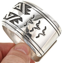 Navajo Step Pattern Bracelet 29987