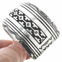 Navajo Sterling Handmade Bracelet 29989