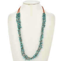 Santo Domingo Style Three Strand Necklace