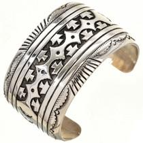 Navajo Sterling Silver Bracelet 30032