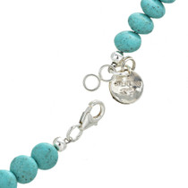 Navajo Genuine Turquoise Ladies Necklace 30033