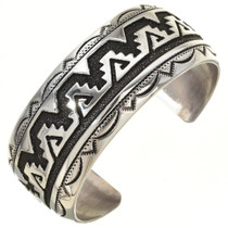 Sterling Silver Native American Bracelet 30042