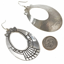 Tommy Rose Singer Silver Earrings Western Style Earrings 30052