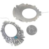 Navajo Artist Tommy Rose Singer Earrings 30053