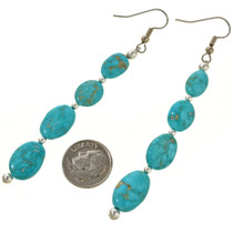 Western Turquoise Earrings 30081