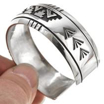 Navajo Sterling Silver Cuff Bracelet 30098