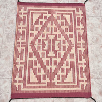 Navajo Raised Outline Wool Rug 30073