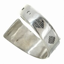 Navajo Overlay Sterling Silver Ring 30105