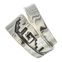 Navajo American Sterling Silver Ring 30106