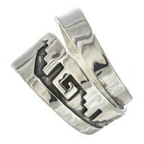 Navajo American Sterling Silver Ring 30106