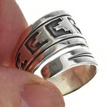 Sterling Silver Navajo Ring 30110