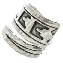 Sterling Silver Adjustable Ring 30110