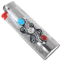 Turquoise Coral Lighter Case 30135
