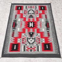 Large Navajo Storm Pattern Rug 30141