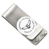 Handmade Silver Navajo Money Clip 30165