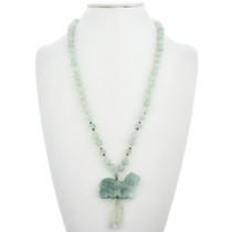 Jade Bead Necklace -30183