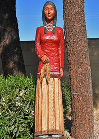 Corn Maiden Wooden Indian 30197