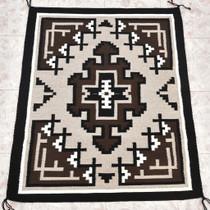 Hand Woven Navajo Indian Rug 30202