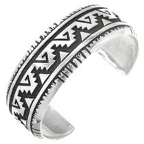 Navajo Silver Cuff Bracelet 30206