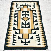 Vintage Navajo Klagetoh Wool Rug 30231