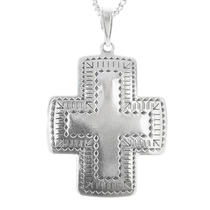 Sterling Silver Cross Pendant 30242