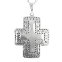 Sterling Silver Cross Pendant 30243