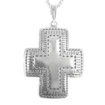 Sterling Silver Cross Pendant 30243