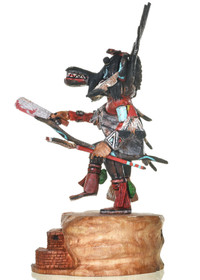 Black Ogre Hopi Kachina Doll 30281