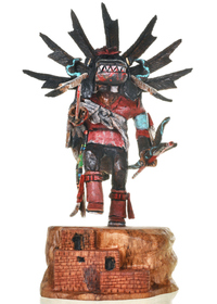 Hand Carved Native American Kachina Doll 30281