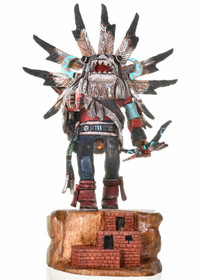 Hopi White Ogre Kachina Doll 30283