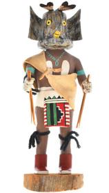 Vintage Hopi Great Horned Owl Kachina 30286